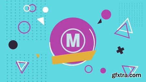 MotionArray Flat Abstract Logo 160153