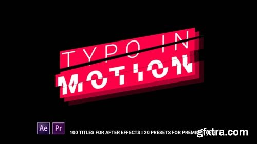 Videohive - Typo In Motion - 21568332
