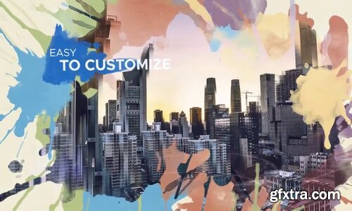 Videohive - Watercolor Parallax Slideshow - 22546329