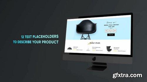 Videohive Monitor Presentation 22425941