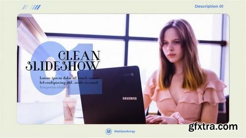 MotionArray - Clean Slideshow After Effects Templates 159882