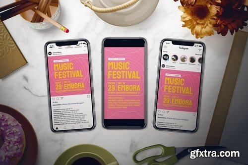 Music Festival Flyer Set