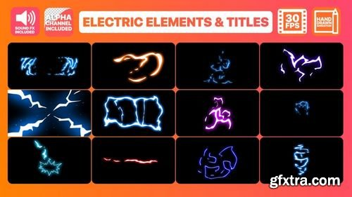 MotionArray - Flash FX Electric Elements And Titles After Effects Templates 160603