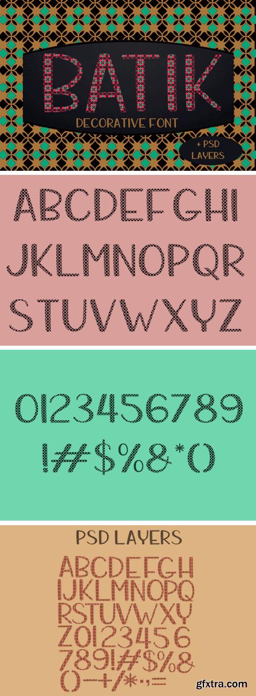 Fontbundles - Batik 191742