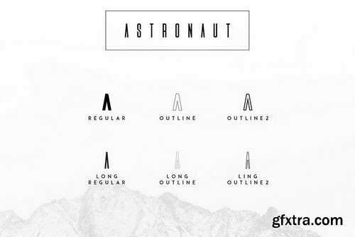 Astronaut Font Family