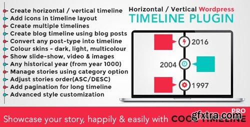 CodeCanyon - Cool Timeline Pro v2.8.1 - WordPress Timeline Plugin - 17046256