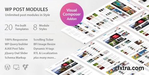 CodeCanyon - WP Post Modules for NewsPaper and Magazine Layouts v2.2.2 - 20142309