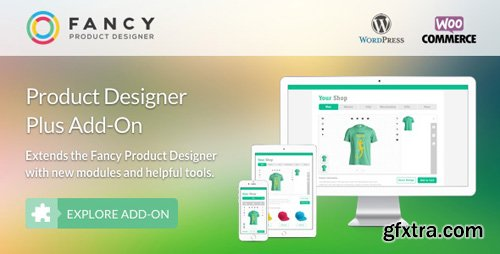 CodeCanyon - Fancy Product Designer Plus Add-On v1.2.1 - WooCommerce WordPress - 17976317