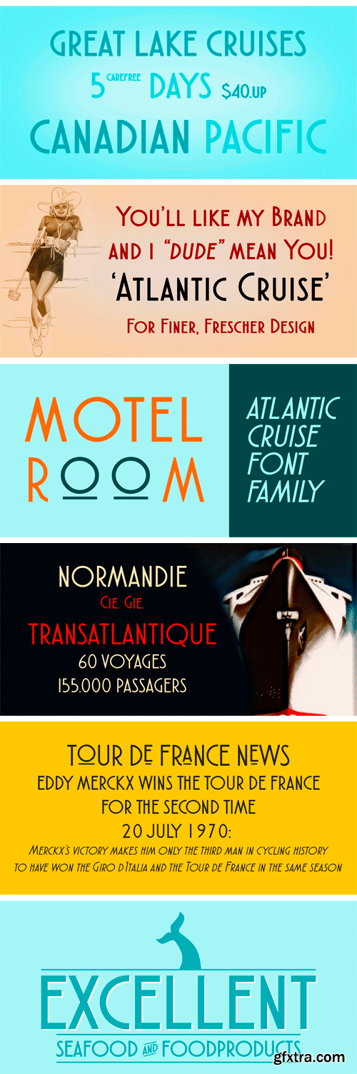Atlantic Cruise Full Family