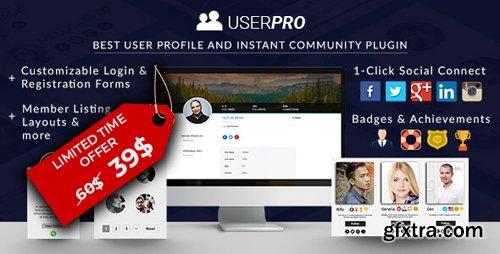 CodeCanyon - UserPro v4.9.30 - Community and User Profile WordPress Plugin - 5958681 - NULLED