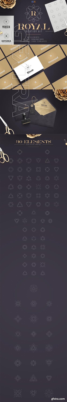 CreativeMarket - Royal Creation Kit - 100+ elements 3362292