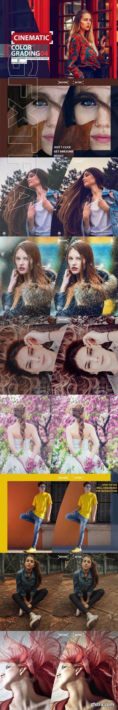 Cinematic Color Grading 04 Premium photoshop actions