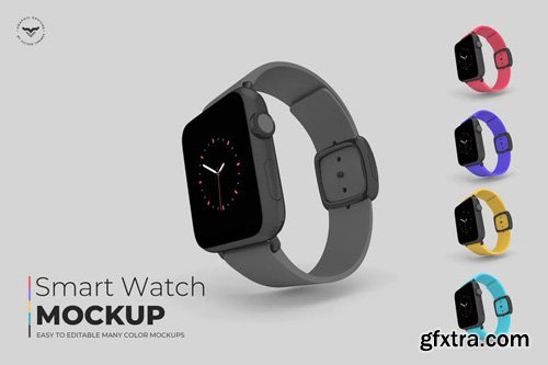 Smart Watch Mockups - TFG9BQ