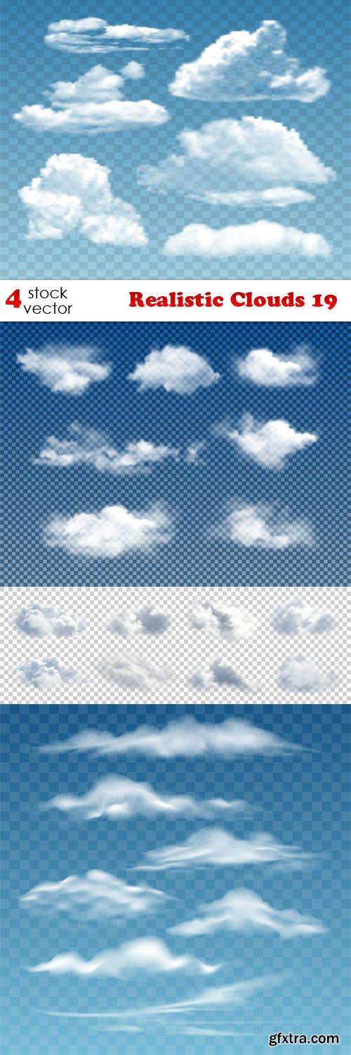 Vectors - Realistic Clouds 19
