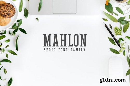 CM - Mahlon Serif Font Family Pack 2319351