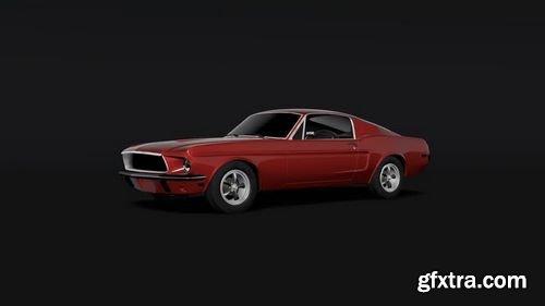 MotionArray -  Car Logo Reveal 161099