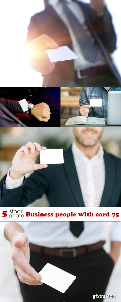 Photos - Business people with card 75