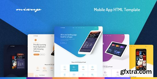 ThemeForest - Mixup - App Landing Page HTML Template (Update: 4 January 19) - 22386228