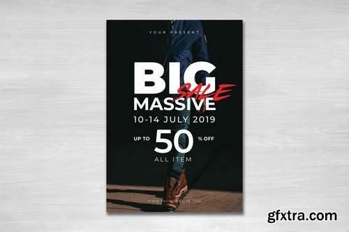 Big Massive Sale Flyer