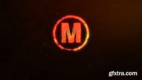 MotionArray Flame Logo Reveal 161322