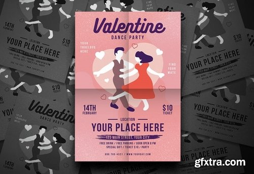 Valentine Dance Flyer