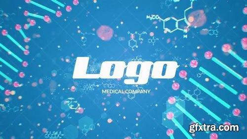 MotionArray DNA Logo Reveal 161460