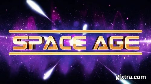 MotionArray Space Age Title/Logo Reveal 161569