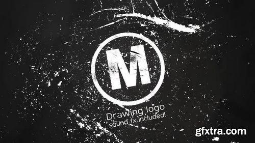 MotionArray Drawing Logo 161603