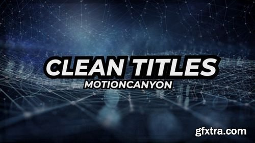 MotionArray Clean Titles 161597