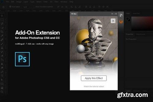 GraphicRiver - Escher Ribbon FX Photoshop Add-On Extension 22832959