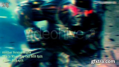 Videohive Glitch Twitch RGB TV Noise 1463300