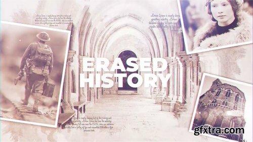 Videohive Erased History 23078374