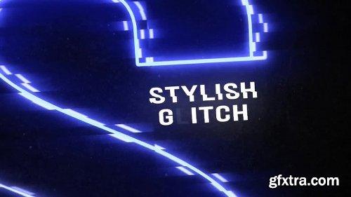 MotionArray Glitch Titles Opener 161395