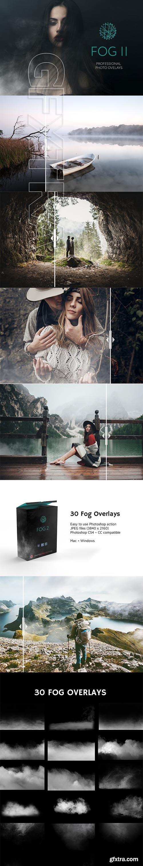 CreativeMarket - 30 Fog Photo Overlays 2,0 3099642
