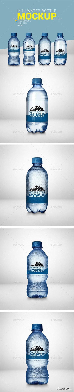 4 Mini Water Bottle Mockup 23080601