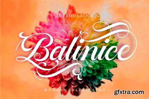 Balinice Font