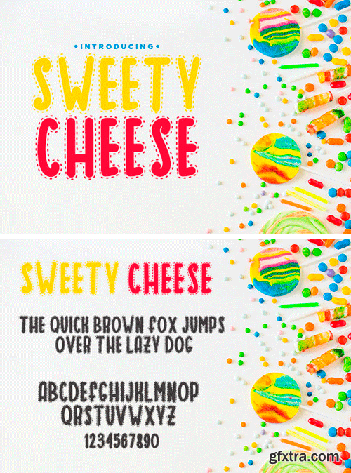 Sweety Cheese Font