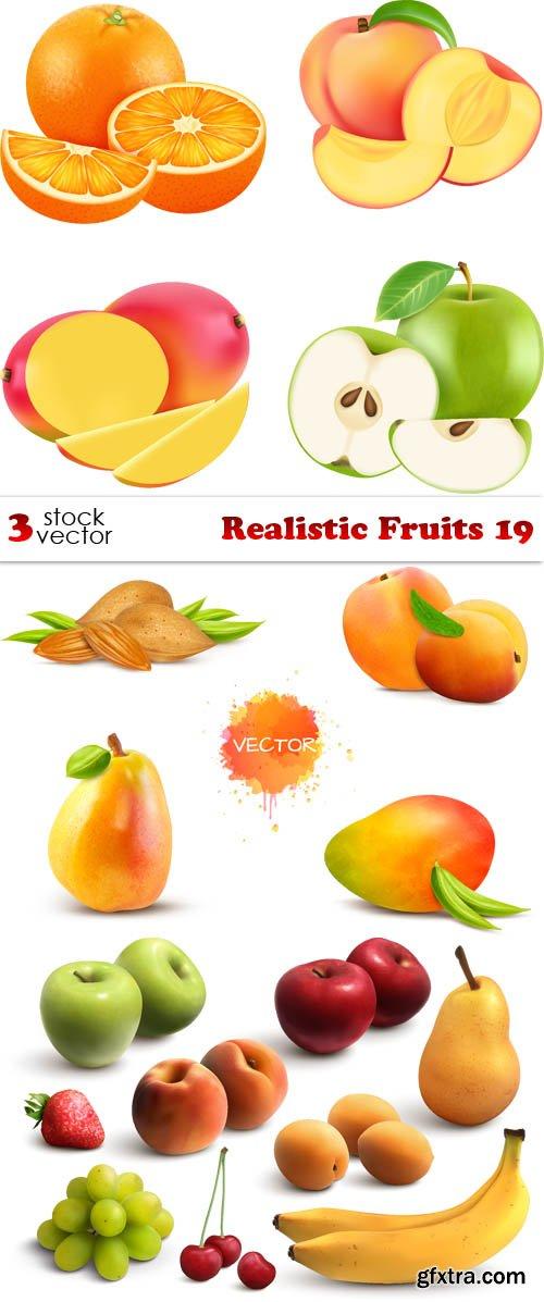 Vectors - Realistic Fruits 19