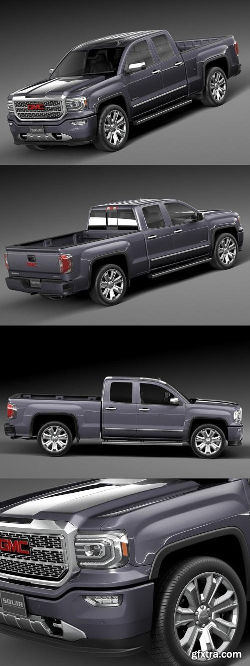 GMC Sierra Denali 2016 - 3D Model