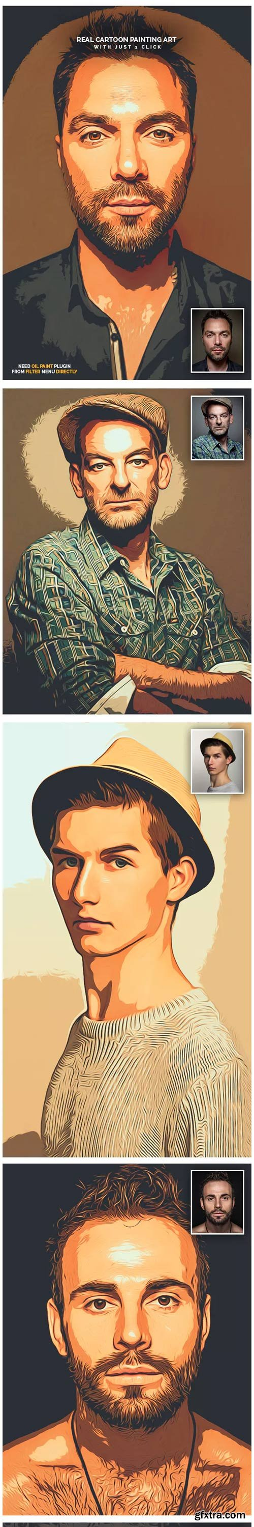 GraphicRiver - Real Cartoon Painting Art - 23063043