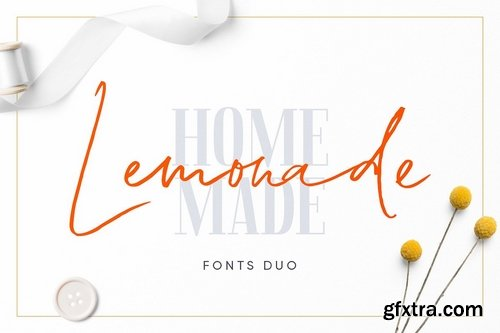 CM - Lemonade Fonts Duo 3360553