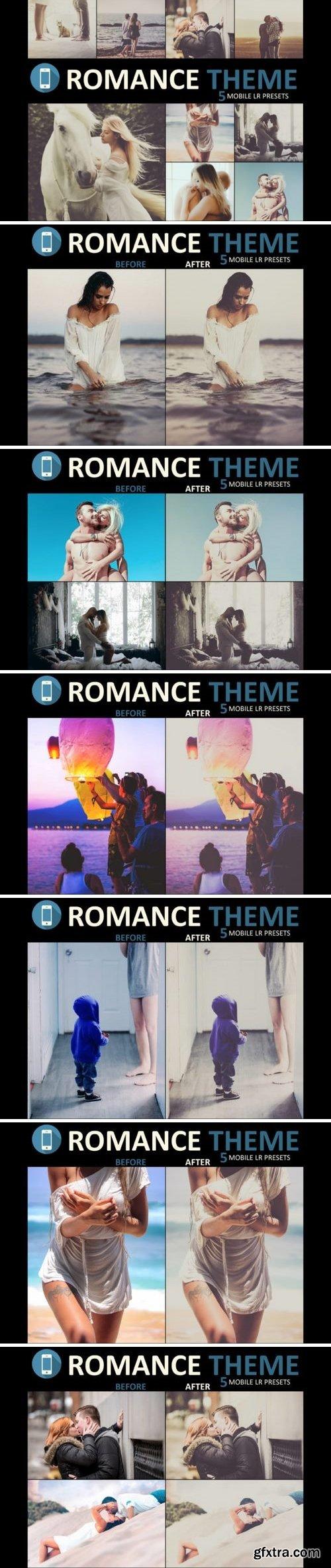 Thehungryjpeg - Neo Romance mobile lightroom presets theme 3522576