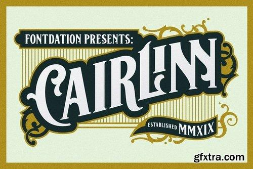CM - Cairlinn Vintage Font 3355212