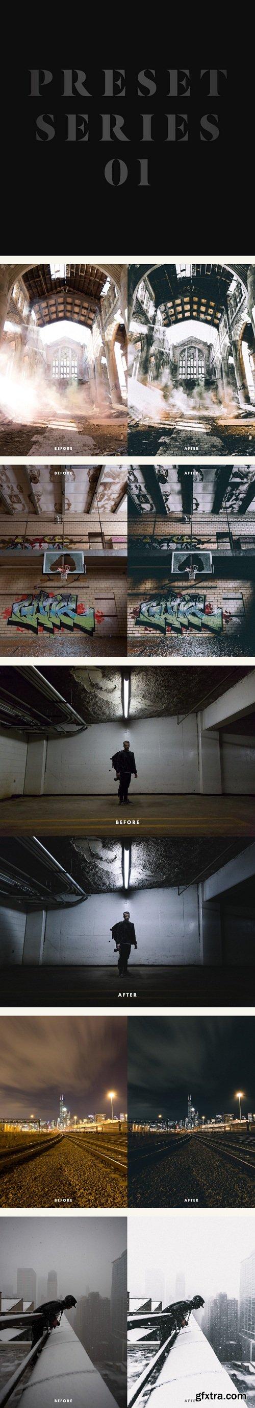 Vince Desantiago Photography - Preset Series 01