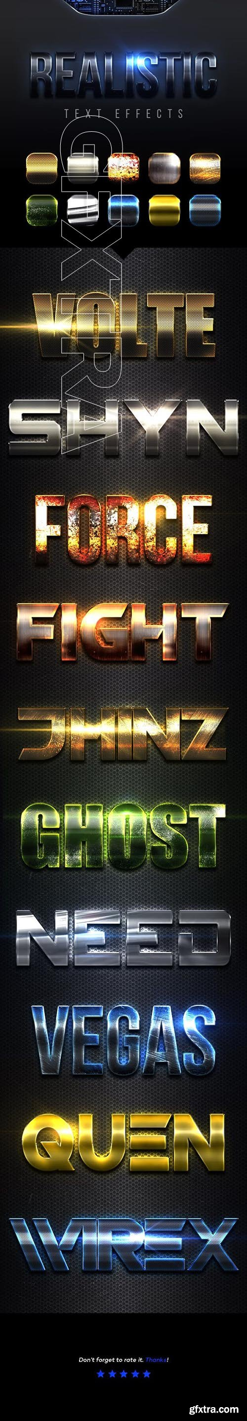 GraphicRiver - Realistic Text Effects Vol9 23118692