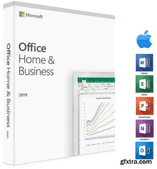 Microsoft Office 2019 for Mac 16.22 VL Multilingual