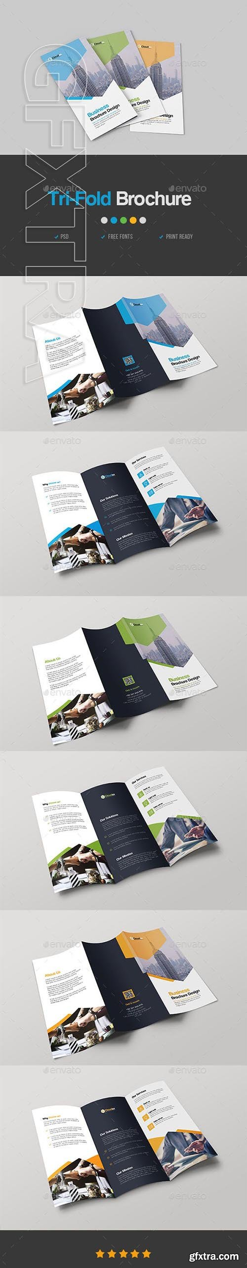 GraphicRiver - Corporate Trifold Brochure 23118607