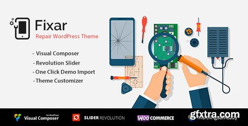 ThemeForest - Fixar v1.2 - Phone Computer Repair Theme (Update: 18 July 18) - 21276915