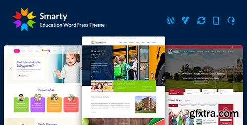 ThemeForest - Smarty v3.0.3 - Kindergarten, School, High school, College, University, Alumni WordPress theme - 15709416