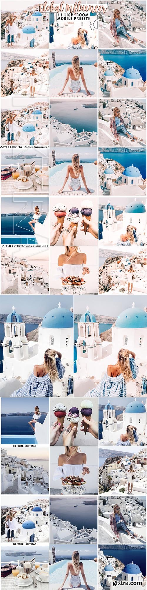 CreativeMarket - Blogger Influencer Lightroom Presets 3328751